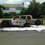 Car Fire in Manalapan