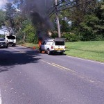 Vehicle Fire on Iron Ore Road